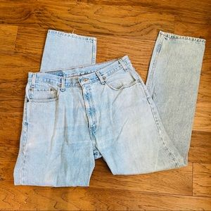 Vintage Levi's 505 regular fit straight leg jeans